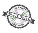 Certified Genderqueer Stamp