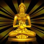 Buddha Siddhartha Gautama Golden Statue