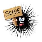 Selfie Fun Cartoon Face