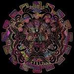 Aztec Warrior Psychedelic Mask