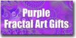 Purple Fractal Art Gifts