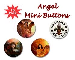 Angel Mini Buttons