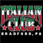 The Italian Club colors of Italy logo (Dark Shirts