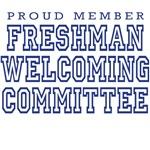 Freshman Welcoming Commitee (light shirts)