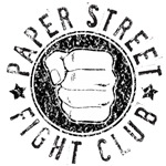 paper Street Fight Club (black print)