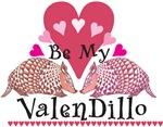 Armadillo Valentine's Day