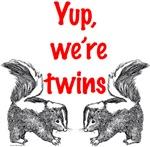 Yup, we're twins