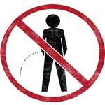 No Peeing