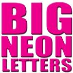 Big Neon Letters