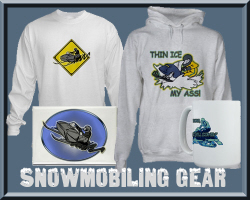 Snowmobiling Shirts & Gifts
