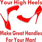 Ladies Your High Heels Make Great Handles