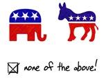 No Republicans or Democrats