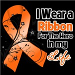 Ribbon Hero in My Life Kidney Cancer Shirts