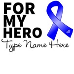 For My Hero Colon Cancer Personalize Shirts