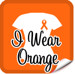 I Wear Orange Ribbon Leukemia T-Shirts & Gifts