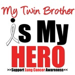Lung Cancer Hero (Twin Brother) Shirts & Gifts