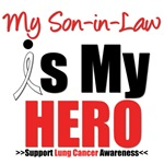 Lung Cancer Hero (Son-in-Law) Shirts & Gifts