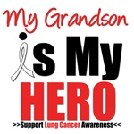 Lung Cancer Hero (Grandson) Shirts & Gifts