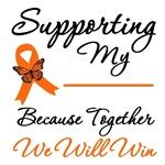 Orange Ribbon Support Shirts & Gifts