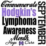 Commemorate Hodgkin's Lymphoma Awareness Month Tee
