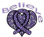 Believe Hodgkin's Disease Shirts and Gifts
