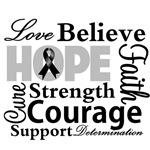 Skin Cancer Hope Collage
