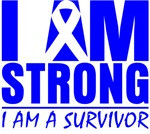 I am Strong Colon Cancer Shirts
