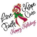 Holiday Hope Multiple Myeloma Shirts