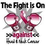 The Fight is On Head Neck Cancer Shirts
