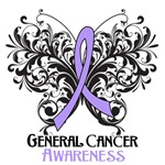 Butterfly Floral General Cancer Shirts and Gifts
