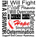 Oral Cancer Persevere Shirts