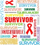 Survivor Colorful Blood Cancer Shirts and Gifts