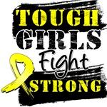 Ewing Sarcoma Tough Girls Fight Strong Shirts