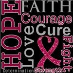 Hope Faith Courage Multiple Myeloma Shirts