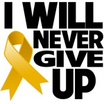 I Will Never Give Up Appendix Cancer Shirts