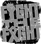 Fight The Fight Brain Cancer Shirts