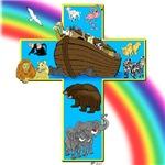 Noah's Cross in Blue