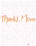 Thanks, Mom (Pink)