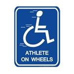 Athlete on Wheels