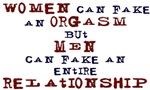Women Can Fake..