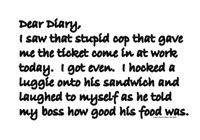 Dear Diary 12