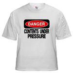 Danger Contents Under Pressure