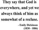 Emily Dickinson 16