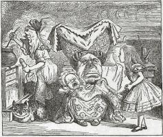 Vintage Alice in Wonderland with Duchess