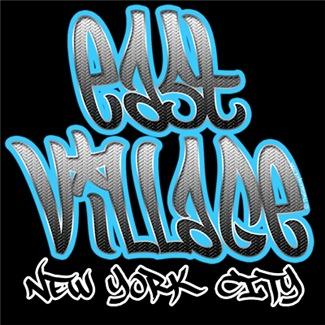 East Village Graffiti T-shirts and Gear