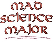Mad Scientist Major T-shirts & Gifts