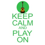 Keep Calm Carry On Guitar Parody Play On