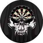 Premium Darts Skull