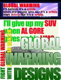 Global Warming Designs