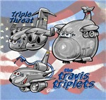 Travis AFB Triplets